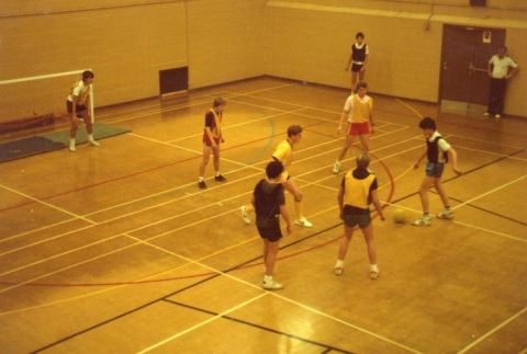 In The Sports Centre
