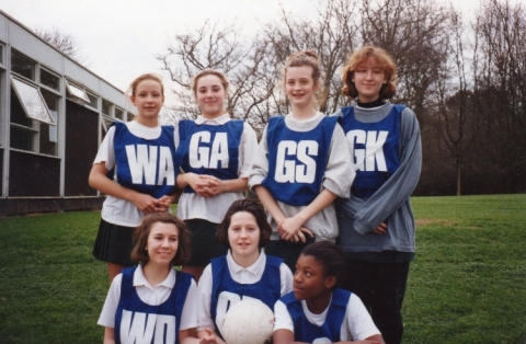 Girls Netball Team